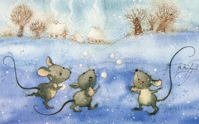 веселые стихи про зиму для детей,