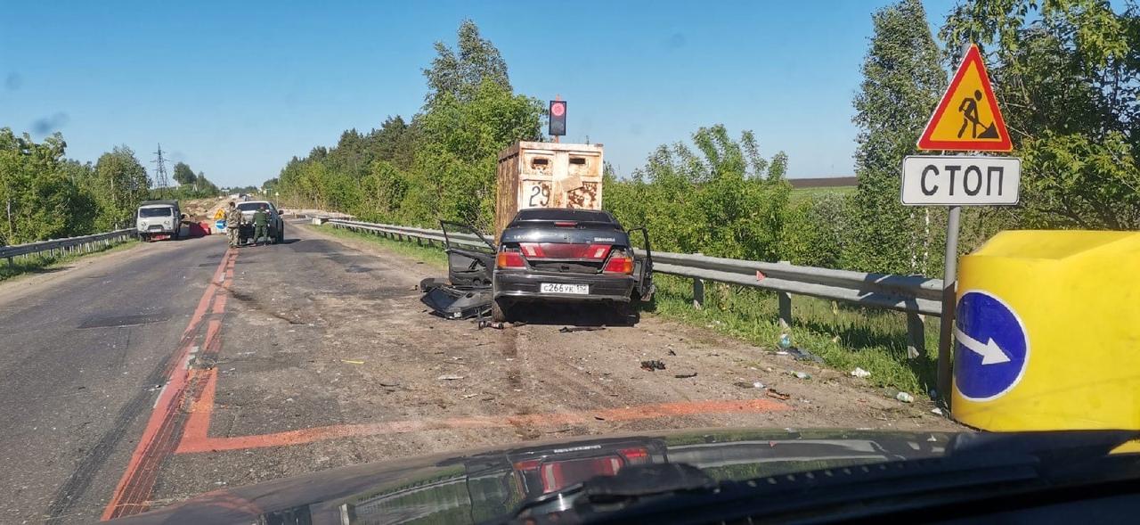 авария на трассе в арзамасском районе