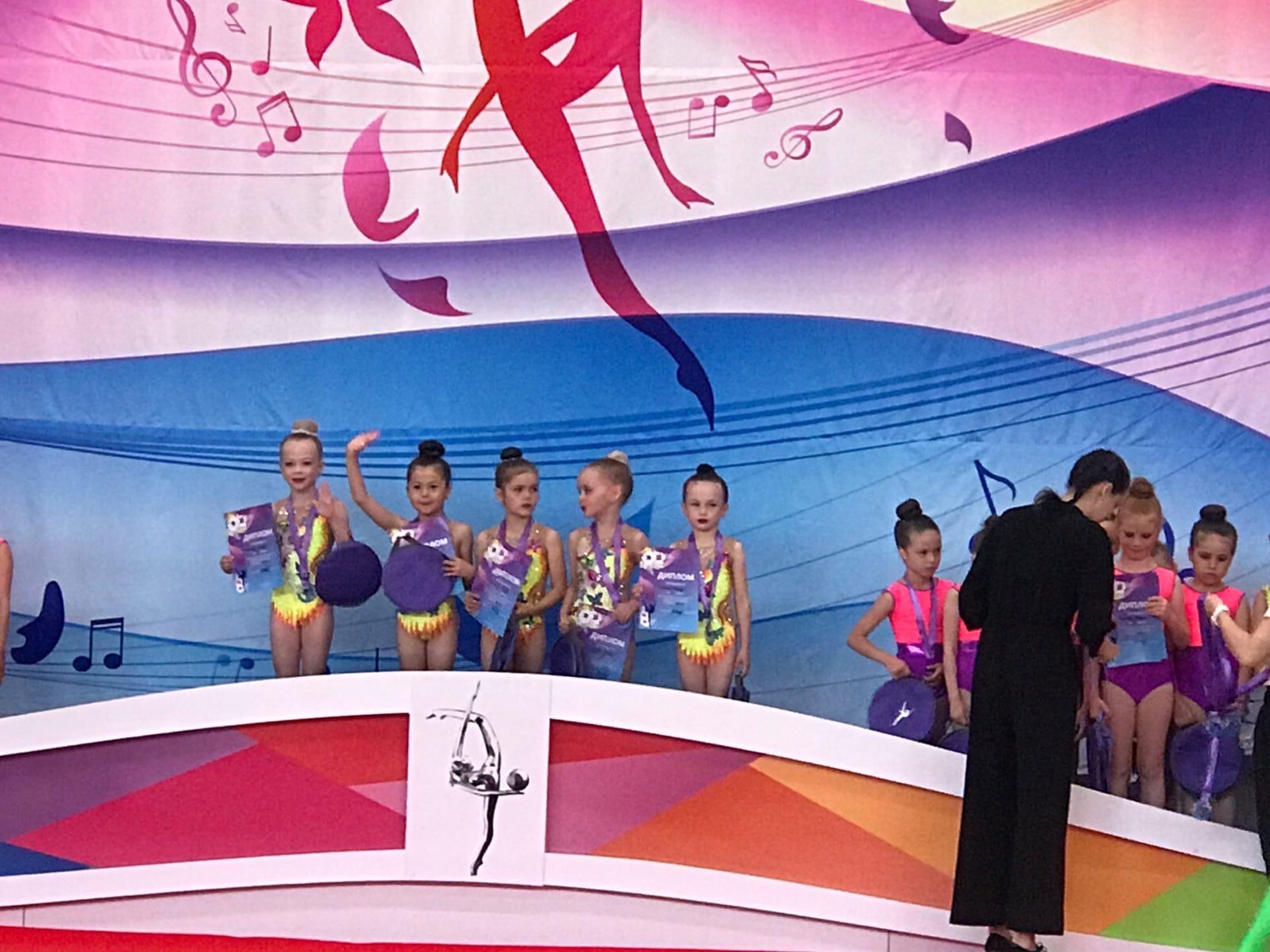 15 медалей завоевали юные гимнастки из Можги