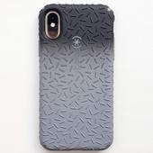 Противоударный чехол бампер Speck CandyShell Fit для Apple iPhone X Iphone Xs Black Ombre Gunmetal/G