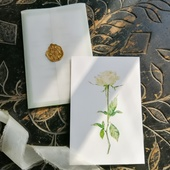 Комплект Белая роза