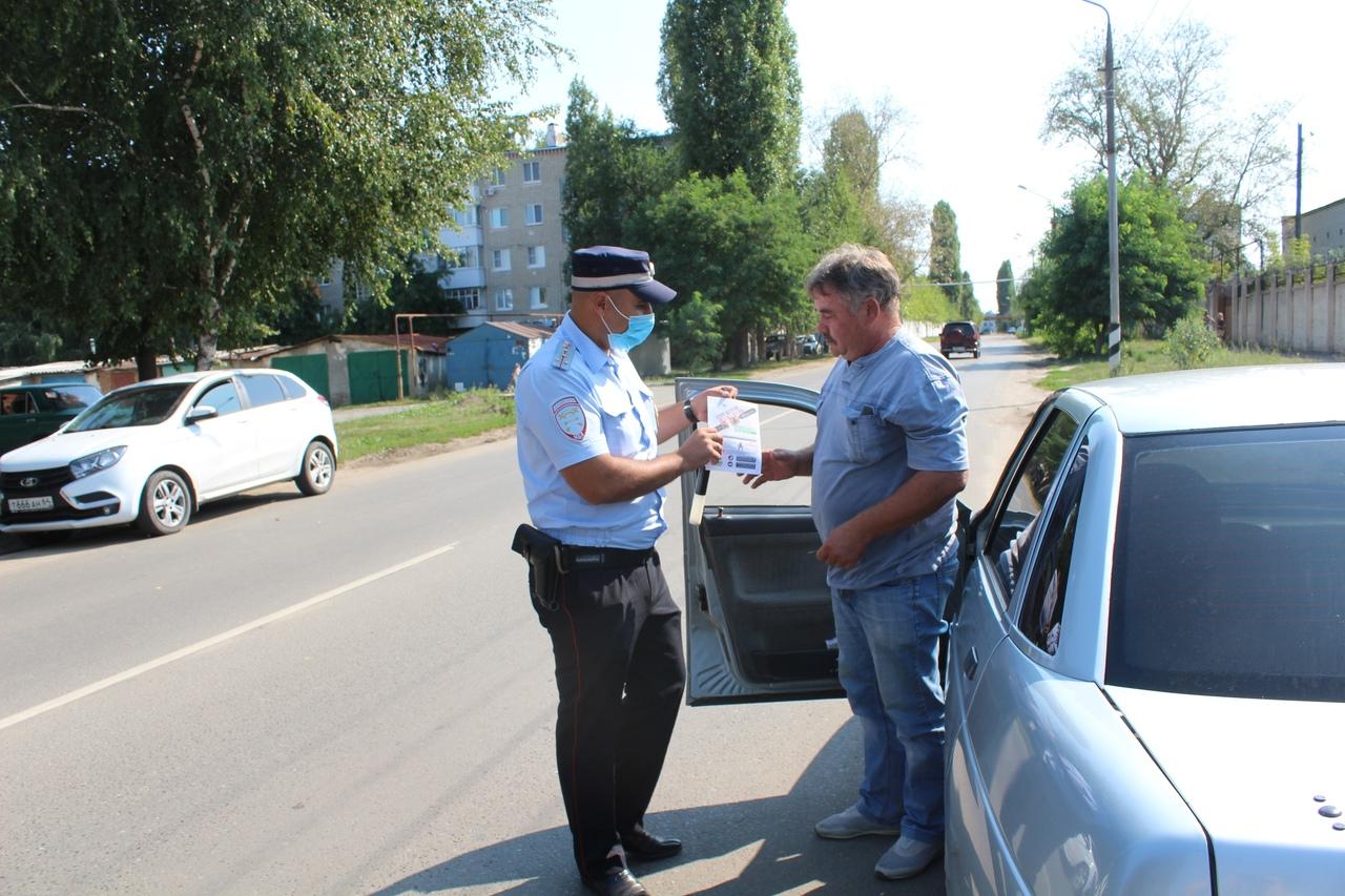 «Ребёнок – главный пассажир» - акцию под таким названием провели сотрудники Госавтоинспекции Петровского района