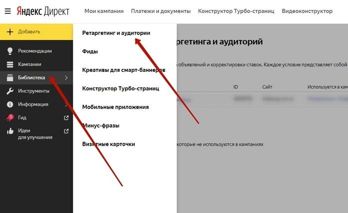 Сегменты Яндекс.Аудиторий в Я.Директ | Как их использовать