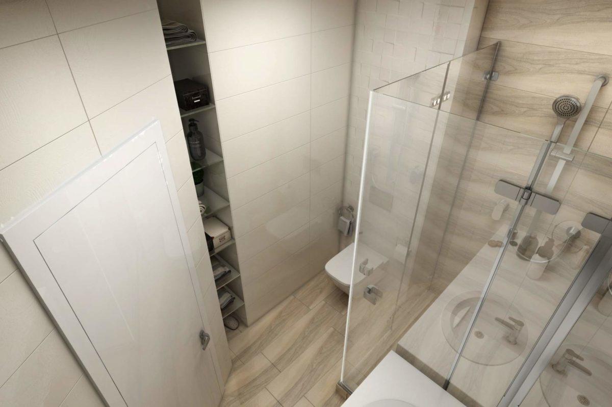 Проект квартиры 30 кв.
