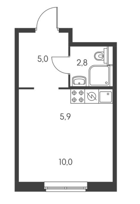 Как вам такое нетиповое расположение дивана в комнате?