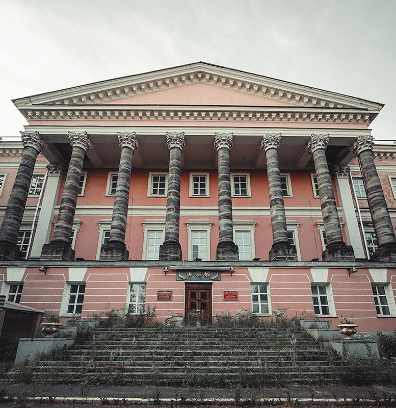 Екатерининский дворец в Лефортово