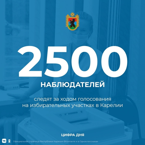 За ходом выборов в республике следят почти две с половиной тысячи наблюдателей. Впервые среди них –