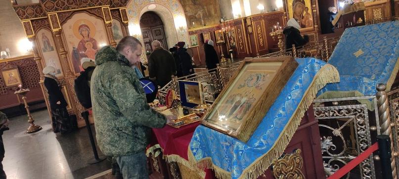 Мироточивая икона Богородицы Семистрельной в Магнитогорске, изображение №1
