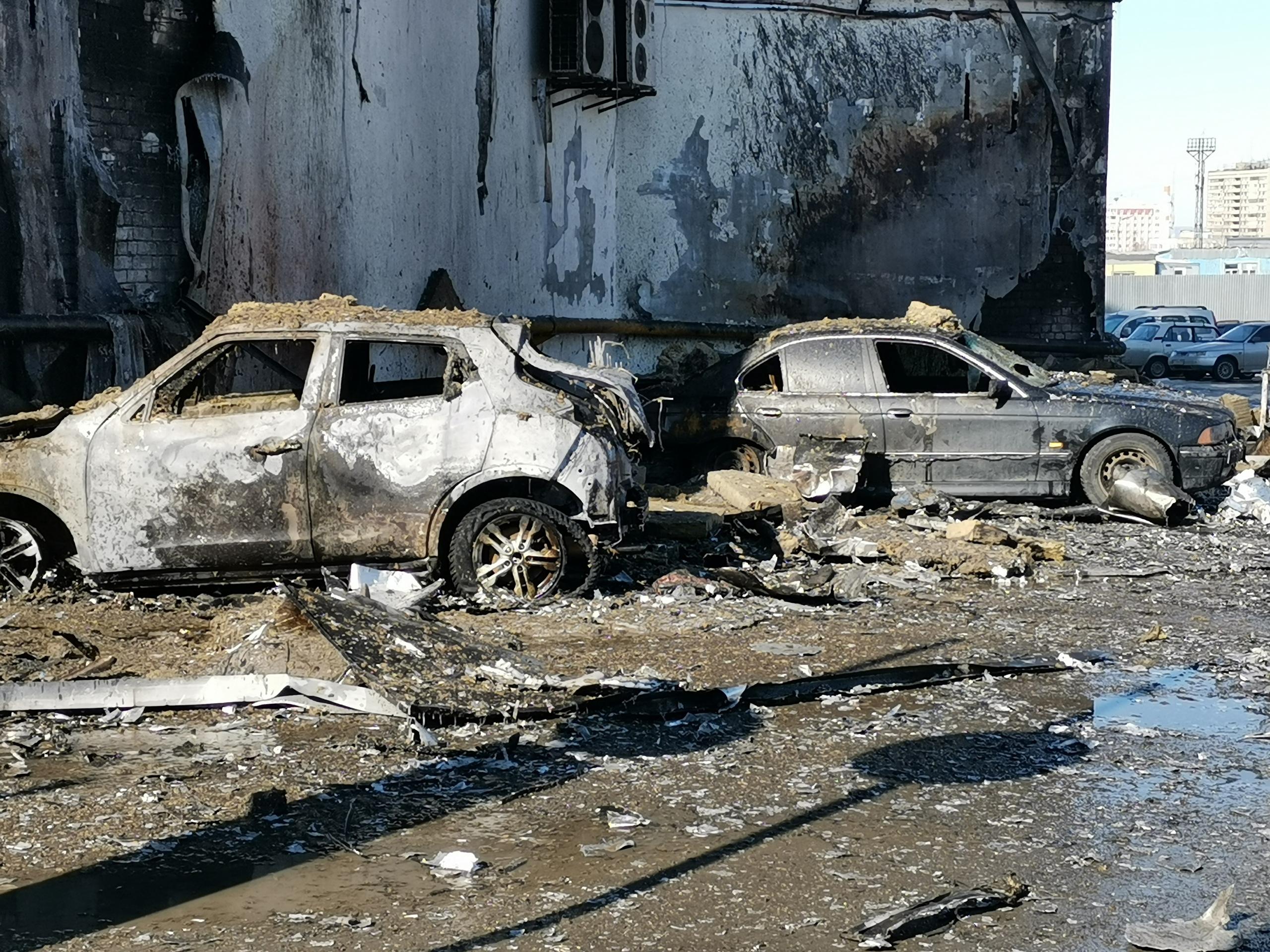 Пожар в БЦ «Скала» в Самаре начался из-за припаркованного рядом автомобиля