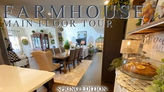 FARMHOUSE MAIN FLOOR TOUR - COME SEE THE NEW CHANGES I'VE MADE!