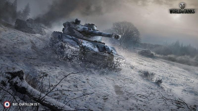 B C 25t 4879 урона ZABYvs100Х2 Руинберг Солдаты удачи World of Tanks