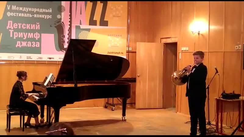Солист Данила Данилин партия фортепиано Елизавета Бурякова Глинка Вальс из оперы Иван Сусанин