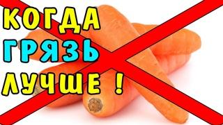 Поэтому я НИКОГДА не Куплю МЫТУЮ Морковь в Супермаркете | Полезные Советы для Здоровой Жизни