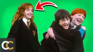 Забавные и трогательные моменты на съемках Гарри Поттера