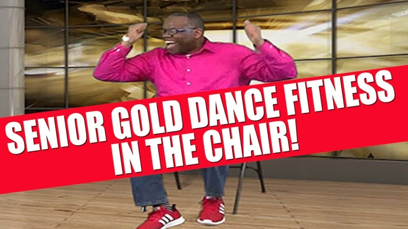 Senior Gold Dance Fitness Party In The Chair Sit Get Your Groove On Burn Fat the Fun Way