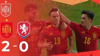 RESUMEN | Dos tantos para sellar el billete a cuartos de la EURO (2-0)
