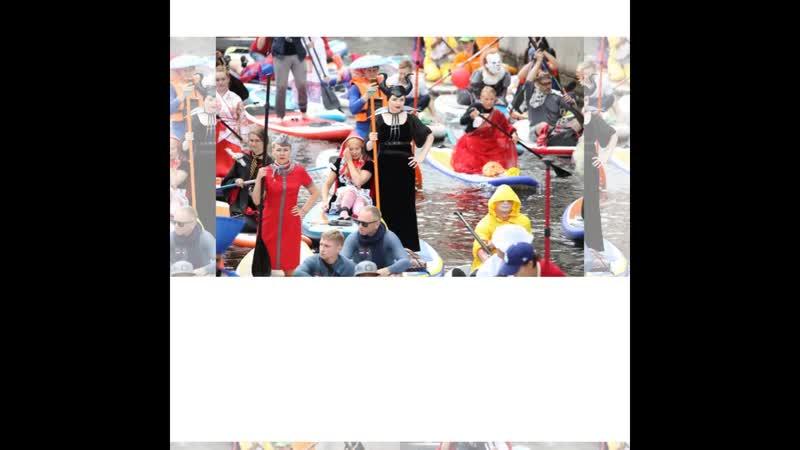 Красавицы барабанщицы на фестивале 5м фестивале SUP серфинга Фонтанка ру
