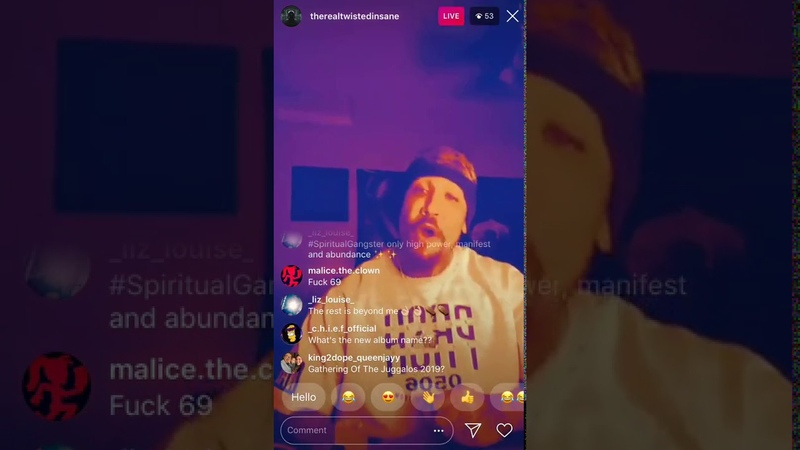 (112318) Twisted Insane Shows NEW FASTEST SONG Top Ramen On Instagram Livestream (VladTV Diss)