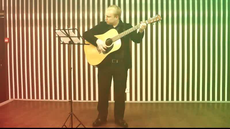 Батька атаман ЧижСо кавер под гитару