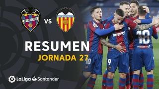 Resumen de Levante UD vs VALENCIA CF (1-0)