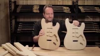 Мастер Fender Custom Shop о разнице Ольхи и Ясеня.