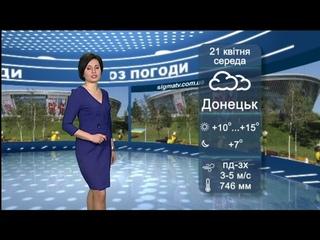 Прогноз погоды в Мариуполе и регионе на  21 апреля