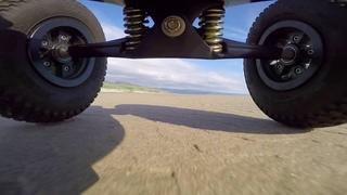 Gopro : Kite Landboarding on the beach