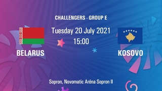Belarus vs. Kosovo   FIBA U20 European Challenger   Sopron, Hungary
