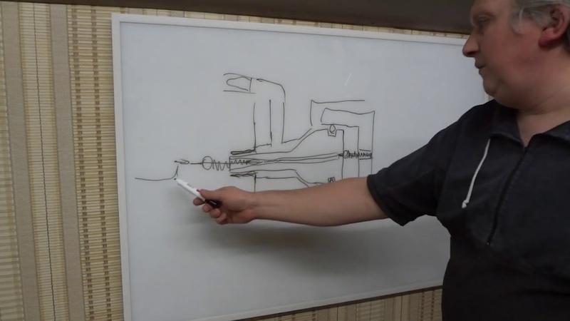 Примерная схема работы клапана Эдган Леший2 Часть 1