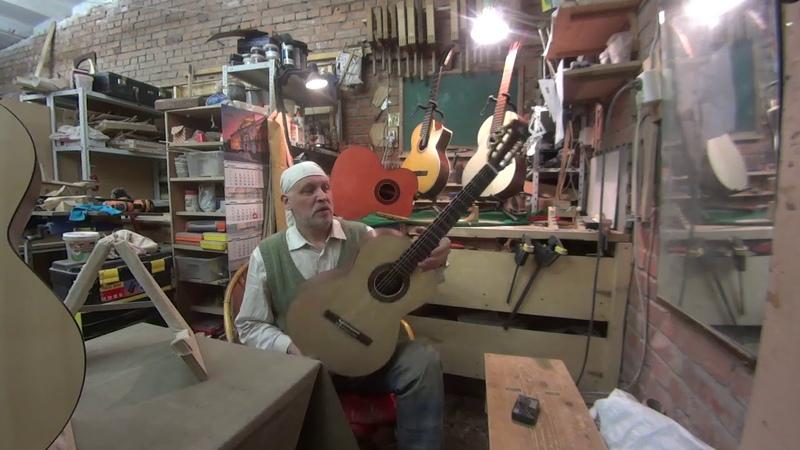 Ученические классические гитары от Антона Хорина предложение дилерам музыкальных инструментов