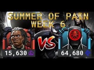 Лето Боли Неделя 6 — Доктор Вуду vs Адаптоид | Marvel Contest of Champions