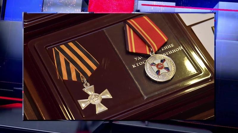 Глава ДНР Денис Пушилин наградил бойцов батальона Спарта
