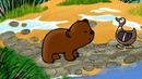 Гора самоцветов Непослушный медвежонок Naughty bear Якутская сказка