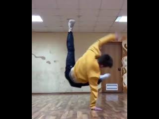 Тренировка Сергея Чернышева (Бамблби)