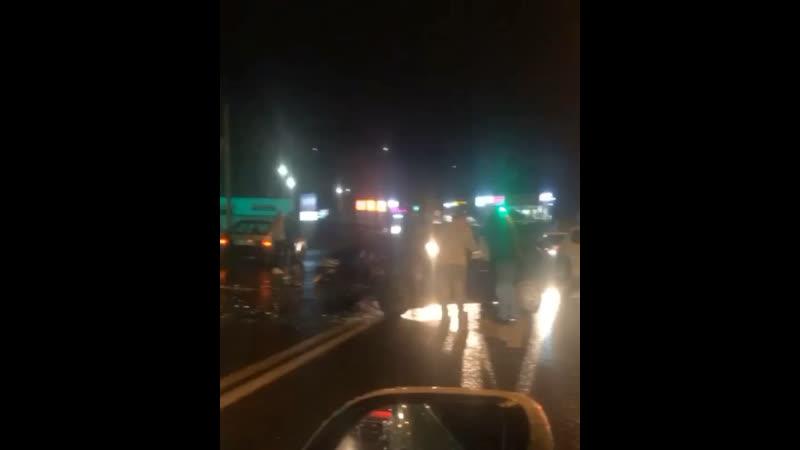 Авария на ул Транспортной Есть пострадавшие
