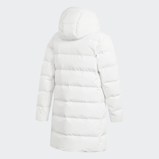 Длинная куртка-пуховик image 6