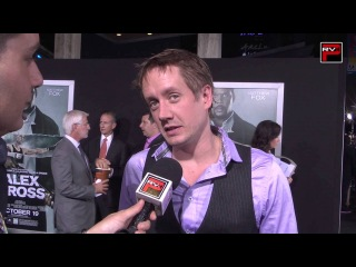 Interview with Chad Lindberg at the Alex Cross Premiere