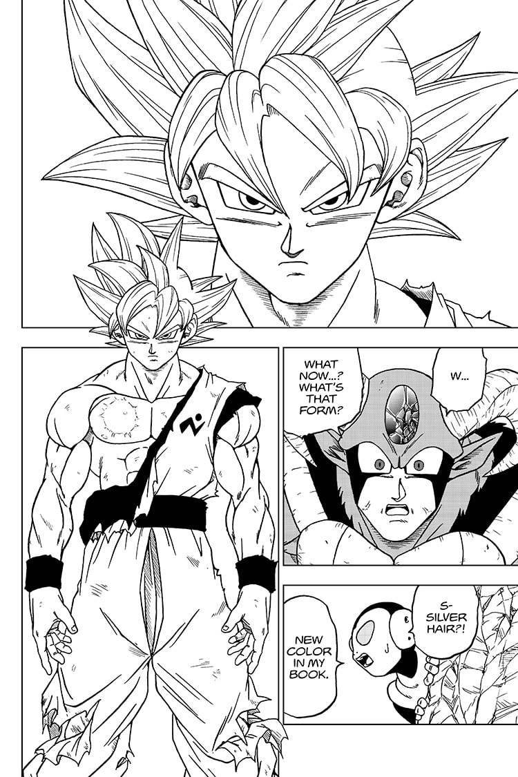 Dragon Ball Super, Chapter 64, image #12