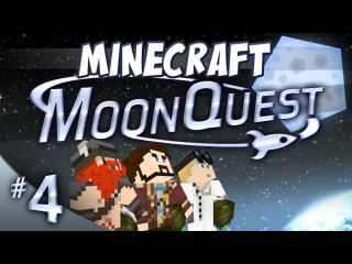 Minecraft Galacticraft - MoonQuest Episode 4 - Rocket Bumholes