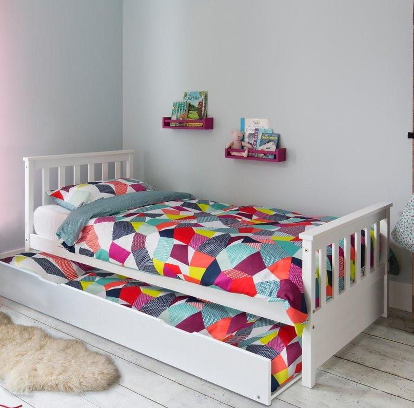 Плюсы и минусы двухъярусных выдвижных кроватей, популярные дизайны, изображение №7