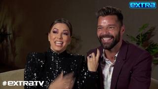 Eva Longoria & Ricky Martin Talk Holiday Plans, Plus: How They Met As Teens