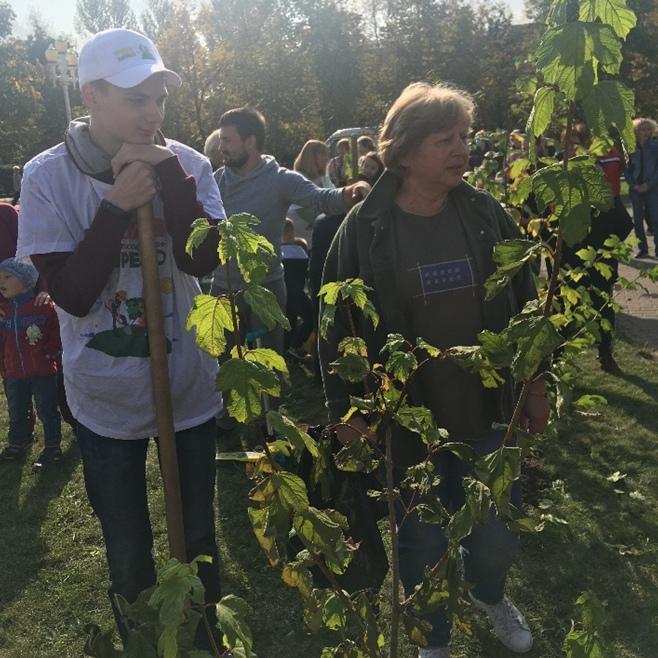Акция «Наш лес. Посади свое дерево»., изображение №4