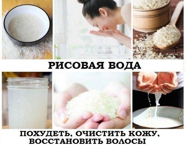 Как Похудеть Рисовая Вода.
