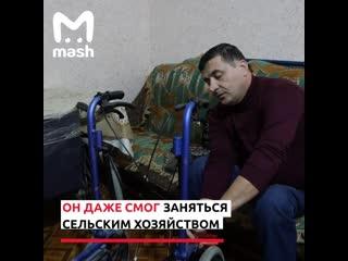 Инвалид-колясочник из Ингушетии помогает товарищам по несчатью