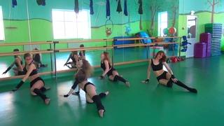 "Танец на полу ""Loveheadshot"" / Стрип ФОК ""Юность"" г.Выкса"