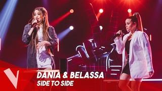 Ariana Grande ft. Nicki Minaj - 'Side to Side' ● Dania & Belassa | Duels| The Voice Belgique Saison9