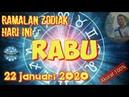 RAMALAN ZODIAK HARI INI RABU 22 JANUARI 2020   ZODIAC FORECAST JANUARY 22, 2020