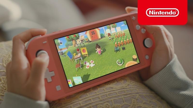 「あつまれ どうぶつの森 × Nintendo Switch Lite」 2020春 CM