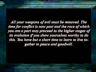 Original Vrillon message from 1977