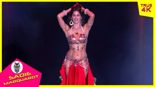 Sadie Marquardt EPIC bellydance performance in The Massive Spectacular! (2020) 4K
